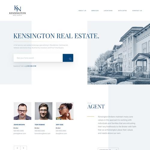 Kensington Real Estate Website v2
