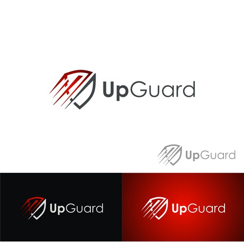 simple concept of upguard logo