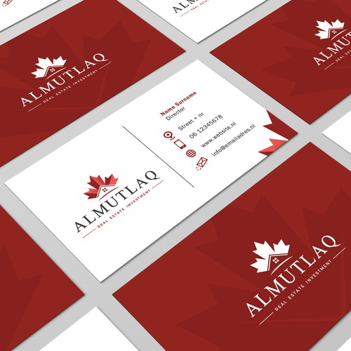 Businesscard design Almutlaq