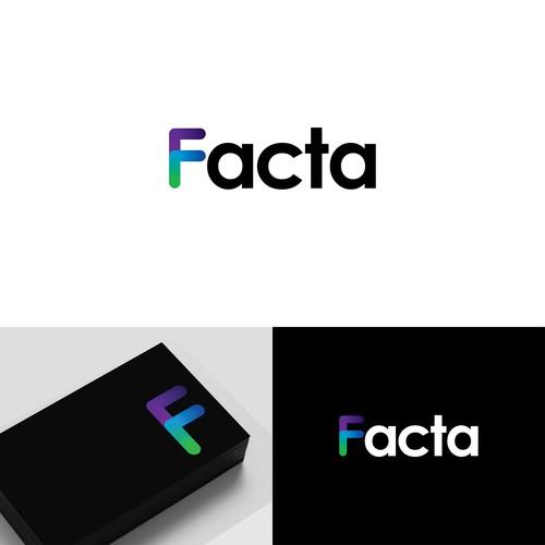 Facta Logo Design