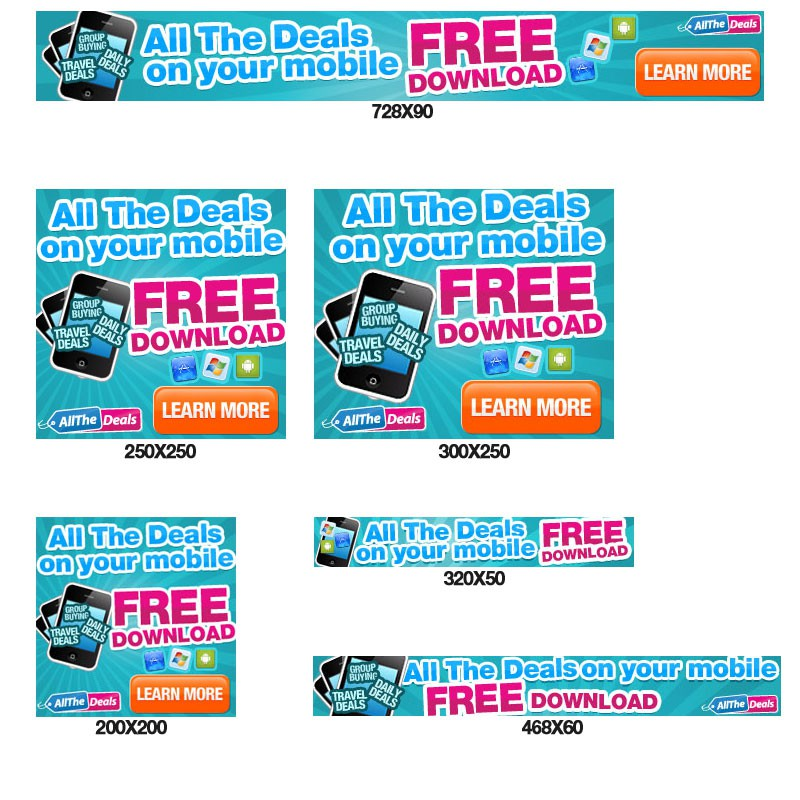 Banner Ads required for Funky Mobile Site