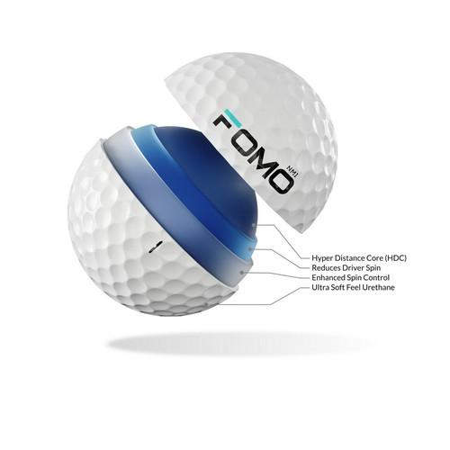 FOMO Golf ball