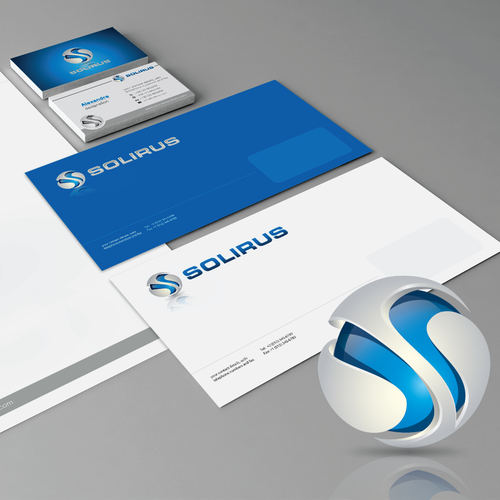 Help Solirus with a new logo and business card