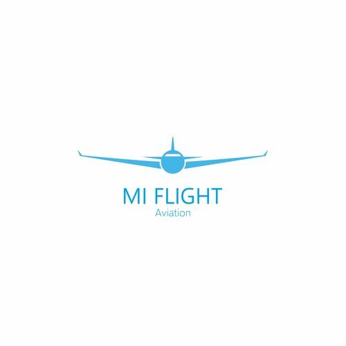 MI flight logo