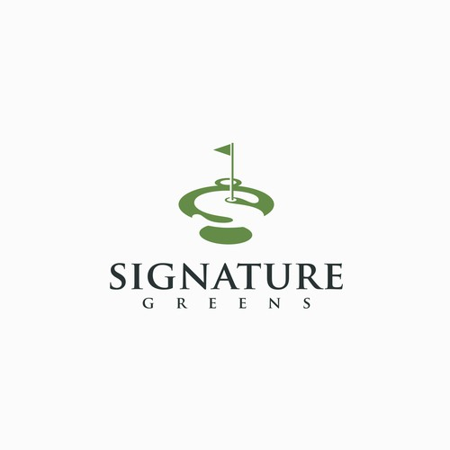 Signature Greens logo.