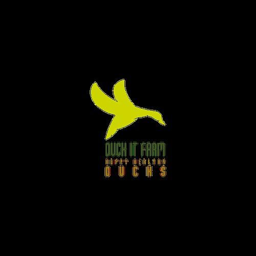 Duck farm logo