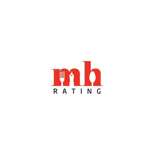 Logo Design for Food Rating Blogger :D