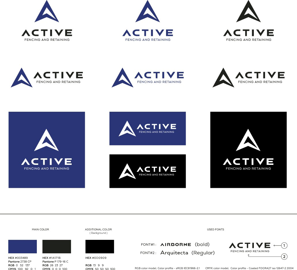 Create modern, flat new logo for young company