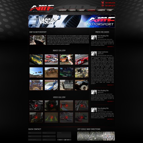 Help All Metal Fabricators with a new website design