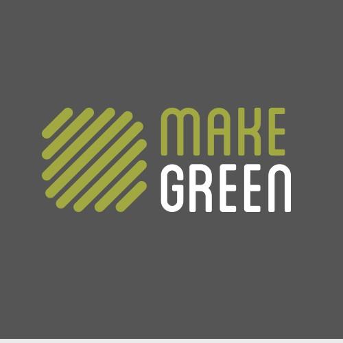 Make green logo design
