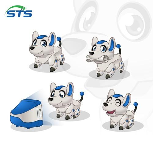 Mascot Design for Watchdog Monitoring Software
