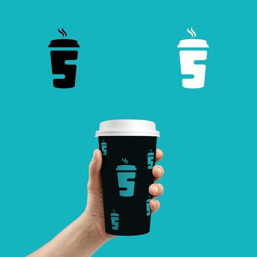 Drive thru coffee bar logo