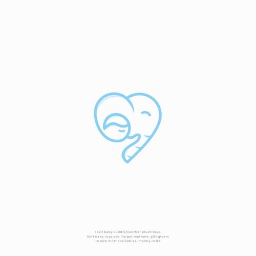Elephant + Baby + Love