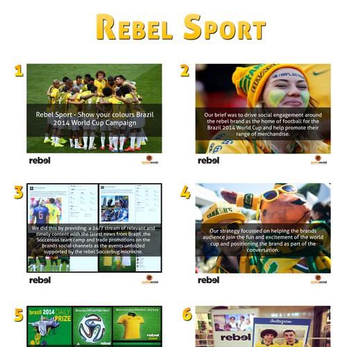 Rebel Sport - Powerpoint prezentation