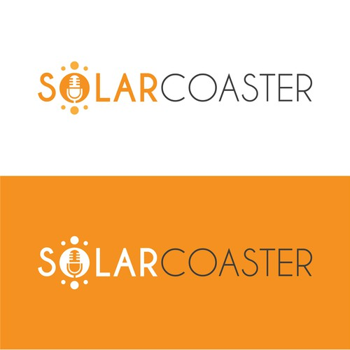 Solar Coaster Logo design