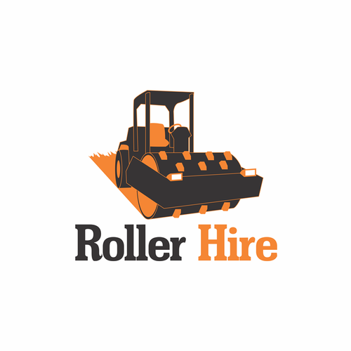 Logo concept for Roller Hire