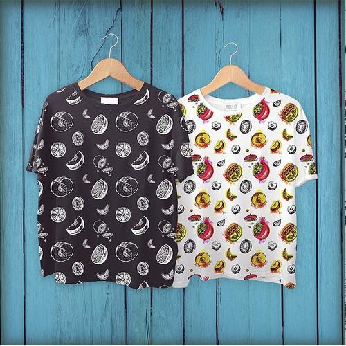 Seamless pattern for T-shirt print