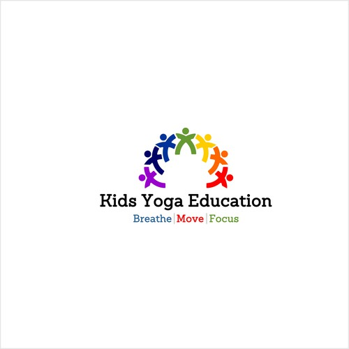 winning design of a yoga for Kids School