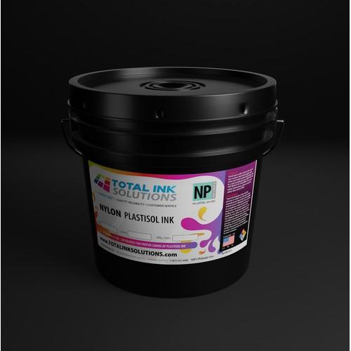 Ink Container Label design