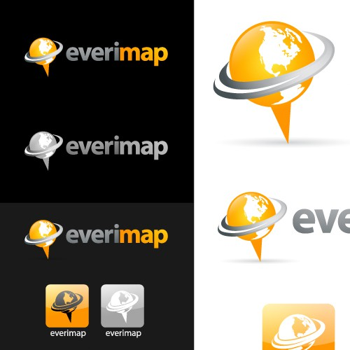 Everimap logo design