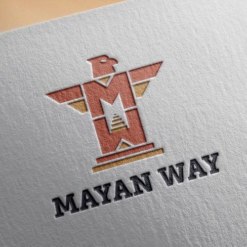 Mayan Way logo concept