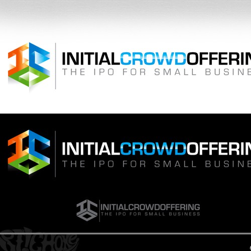 Create the next logo for Initial Crowd Offering