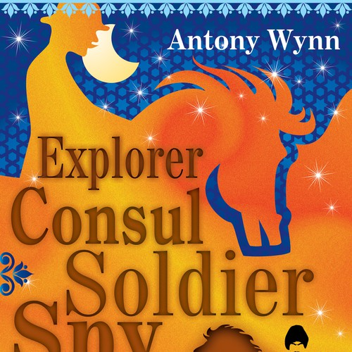 Book cover design Explorer Consul Soldier Spy