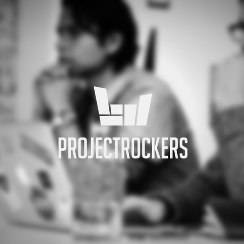 logo for project rockers