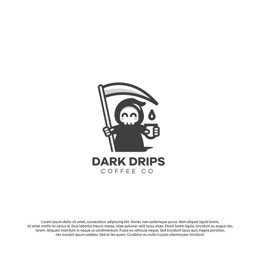 Logo concept for Dark Drips