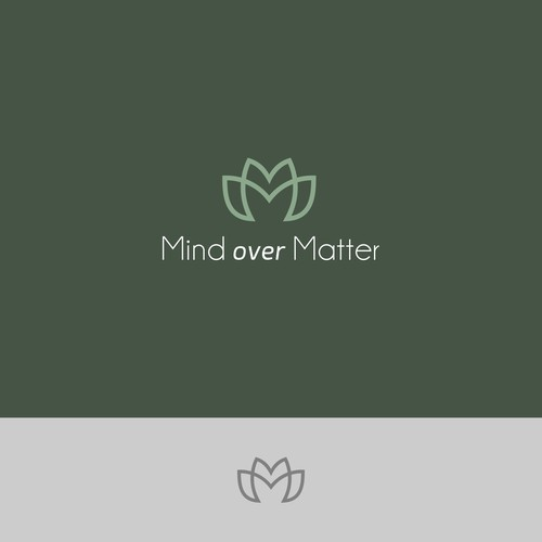 MM lotus monogram