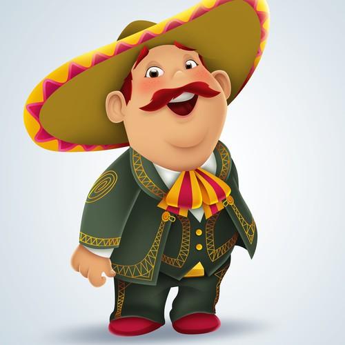 100amigos.com brand mascot