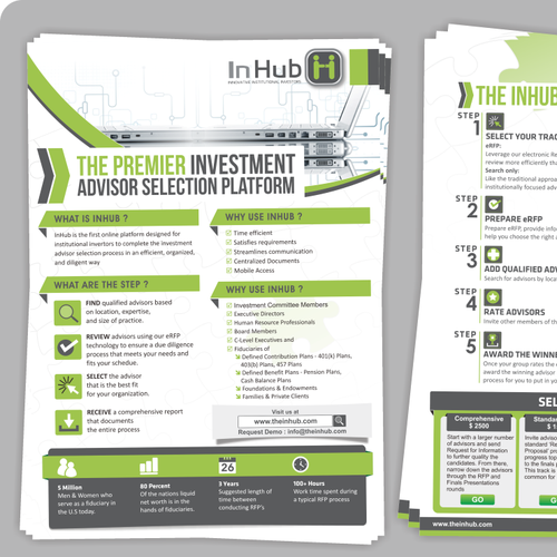 Create the next postcard, flyer or print for InHub