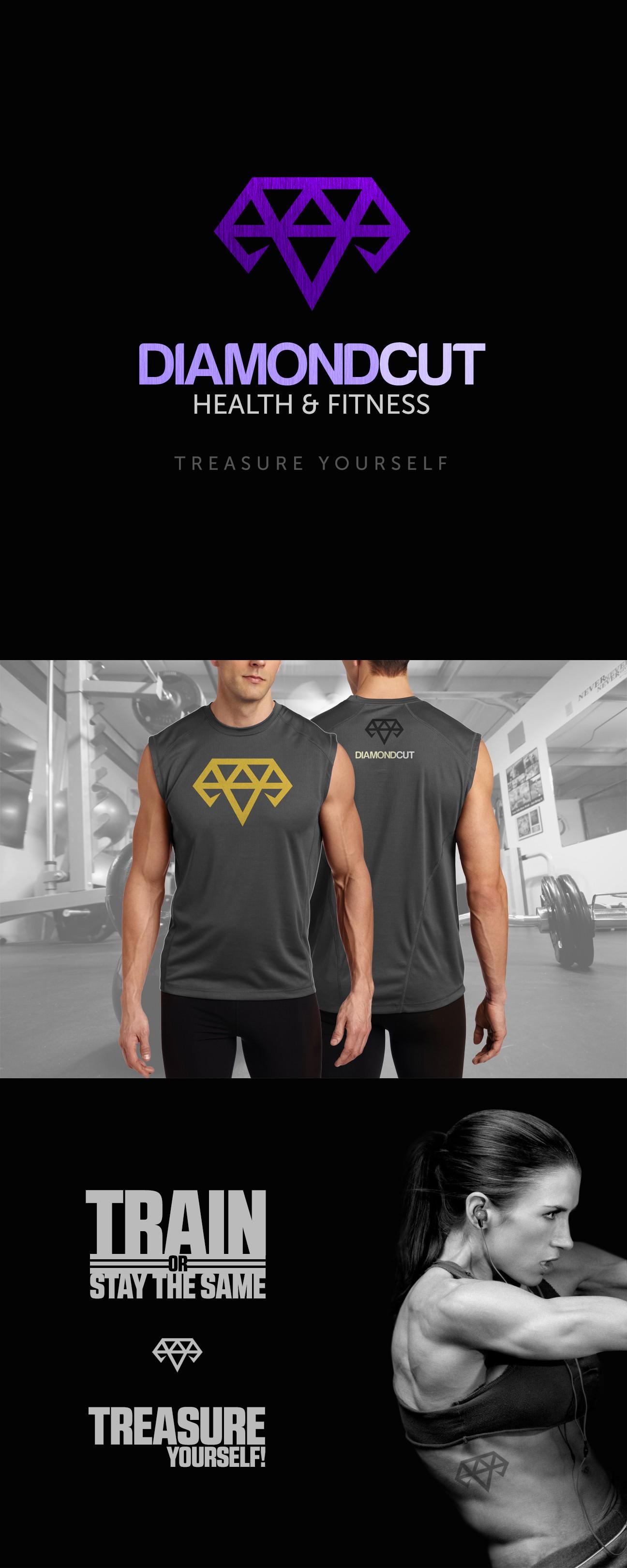 Create a Logo for Diamond Cut Health and Fitness!