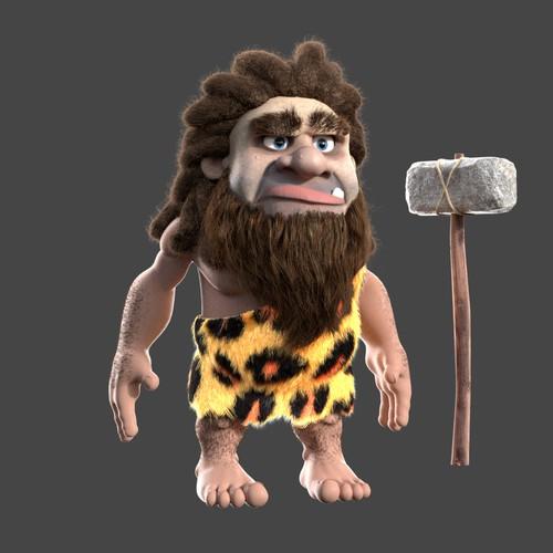 3D Character - Caveman
