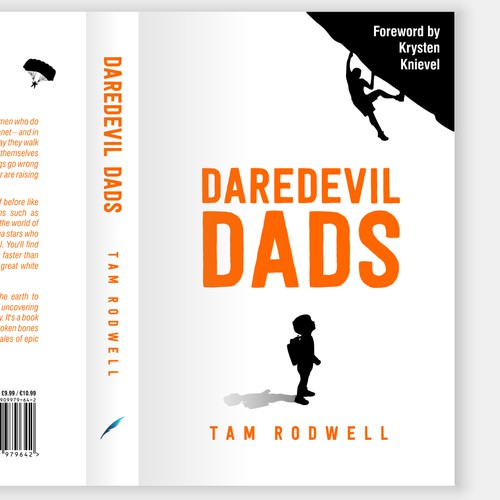 """Daredevil Dads"" Book Cover"