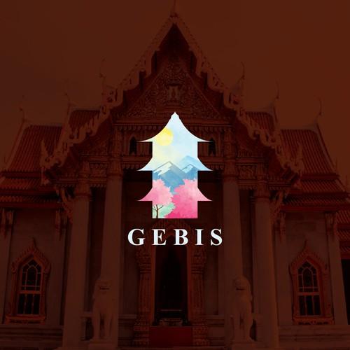Buddhist monastery logo