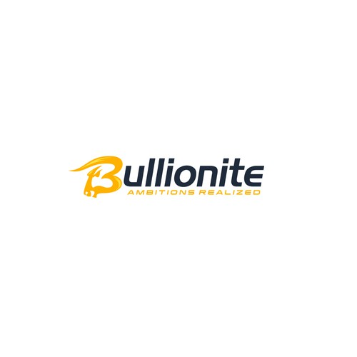 Bold logo concept for bullion industry