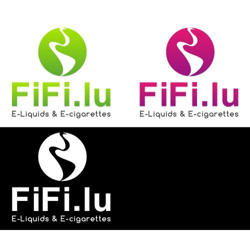Create a business card for E.cigarettes selling