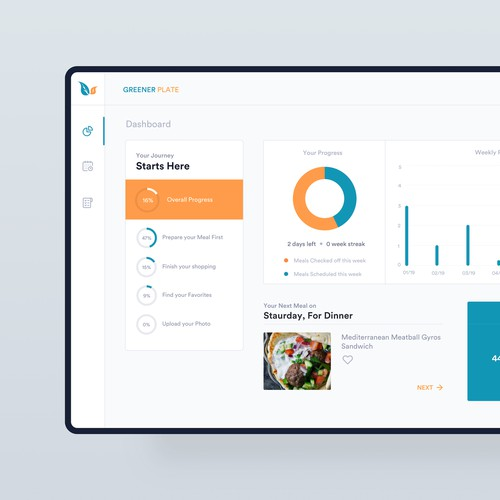 Meal planner App UI/UX Design