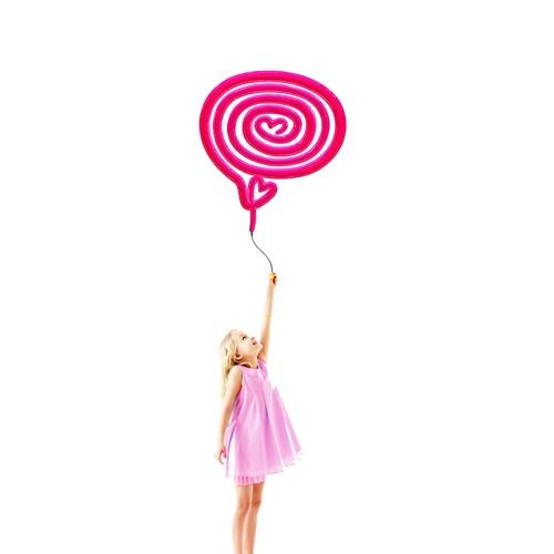 Logo proposal for a Pink Mind.