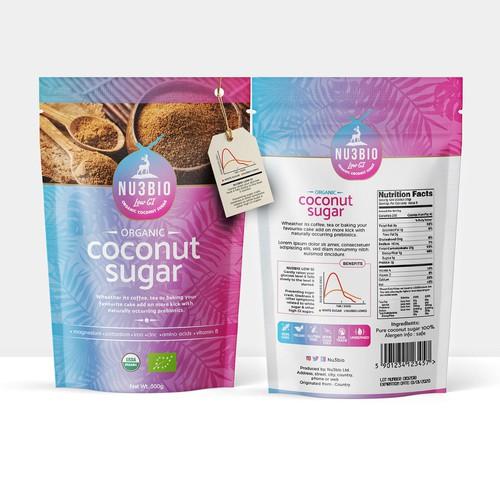 Nu3BIO Organic Coconut Sugar