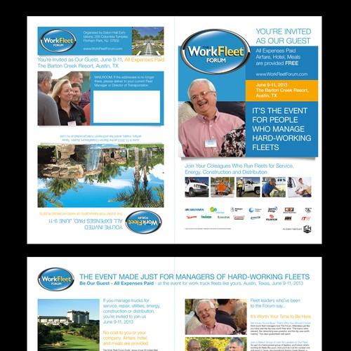 brochure design for Work Fleet Forum