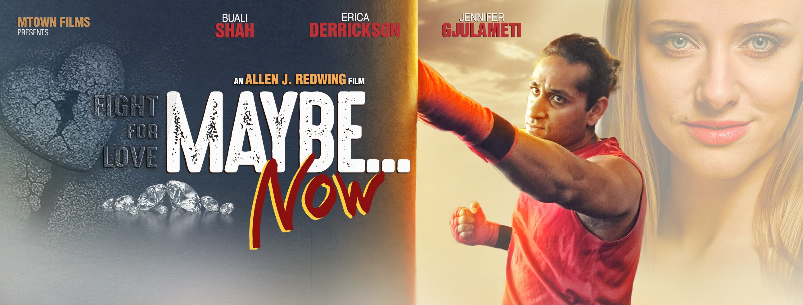 Maybe...Now Movie Poster and Facebook Cover