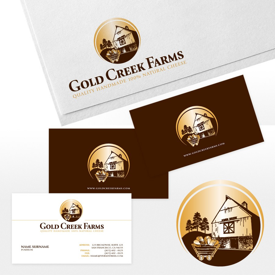 logo for Gold Creek Farms