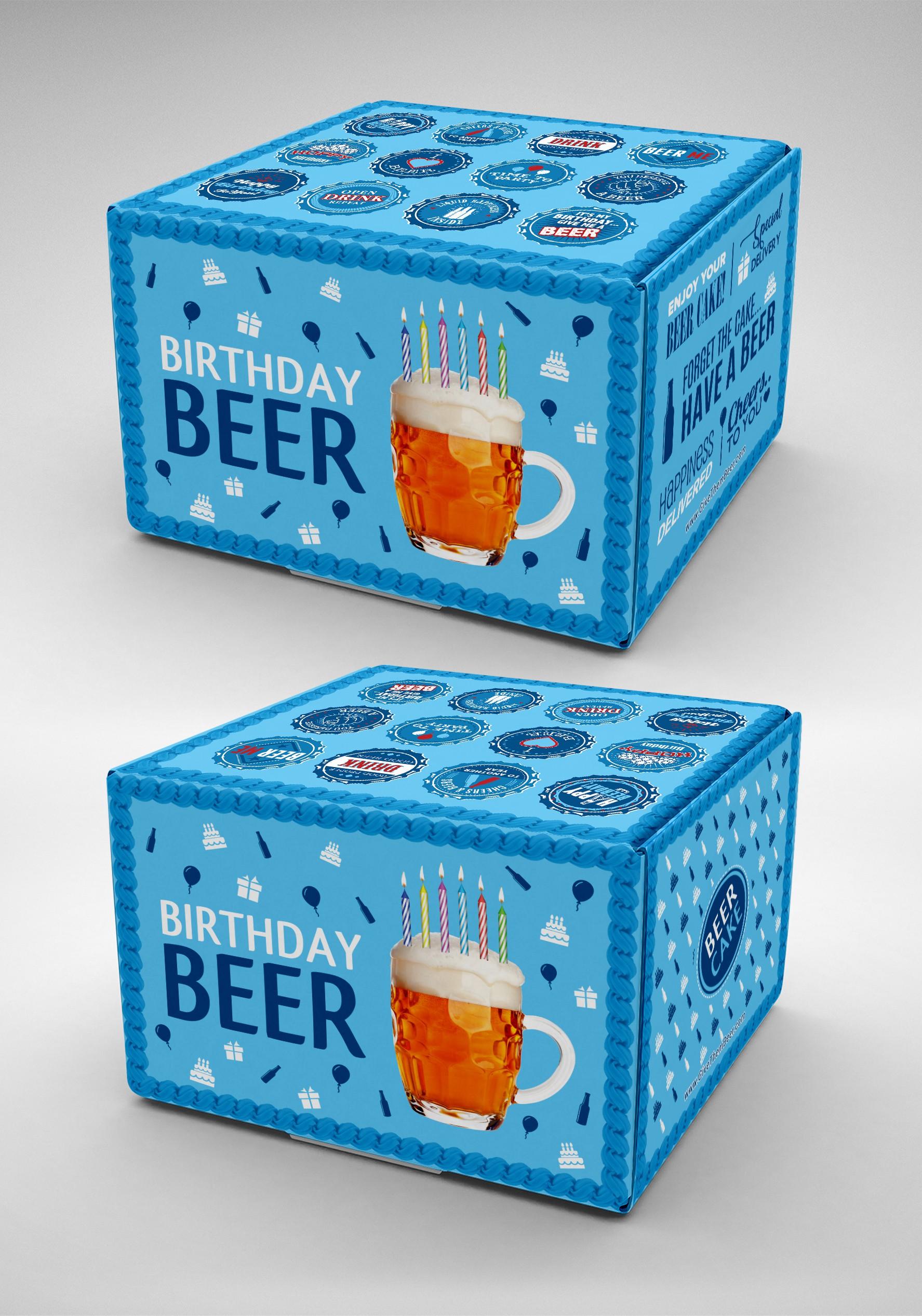 Birthday Beer Cake