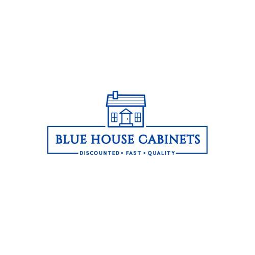 Logo fo blue house cabinet
