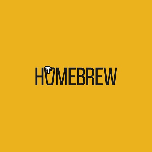 A logo for an in-house production company, Homebrew