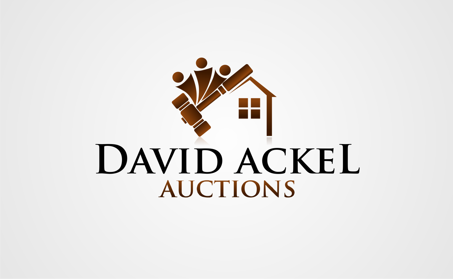Create the next logo for David Ackel Auctions