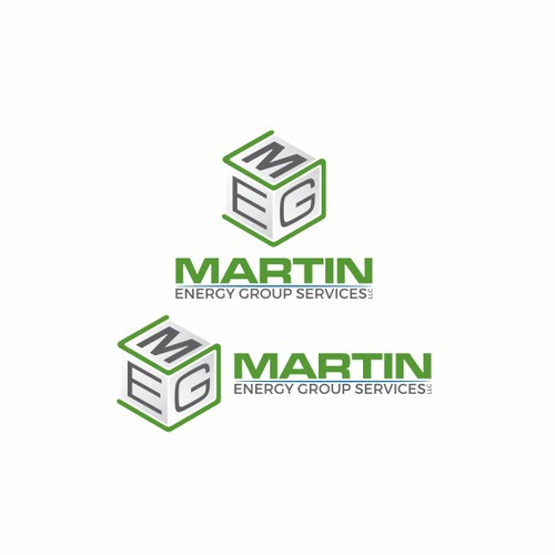 Logo design for Martin Energy Group Services