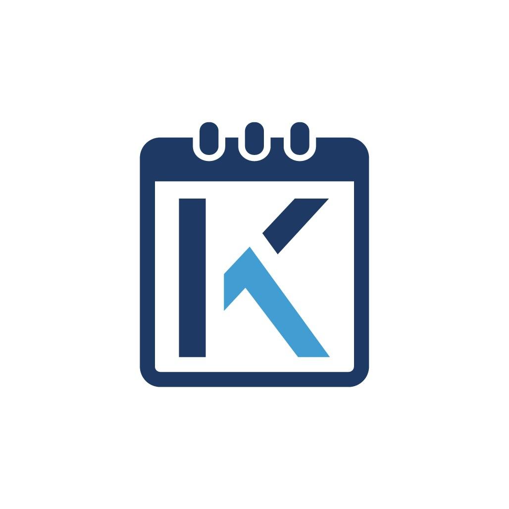 Modern Logo for Booking Management Website Key1